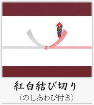 紅白結び切り(のしあわび付き)